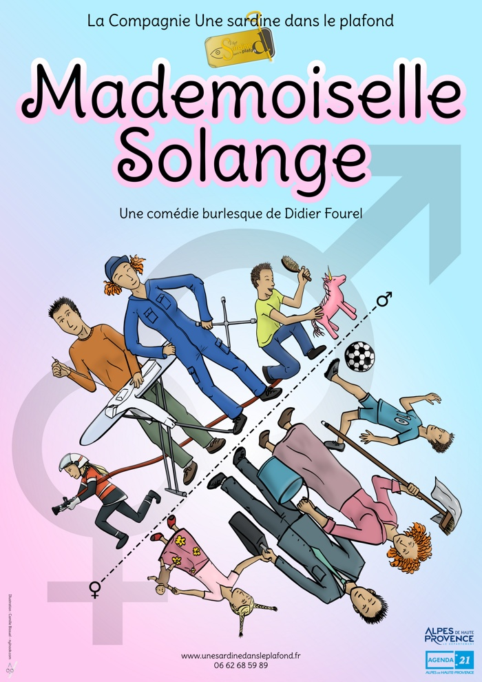 Affiche mademoiselle solange thumb